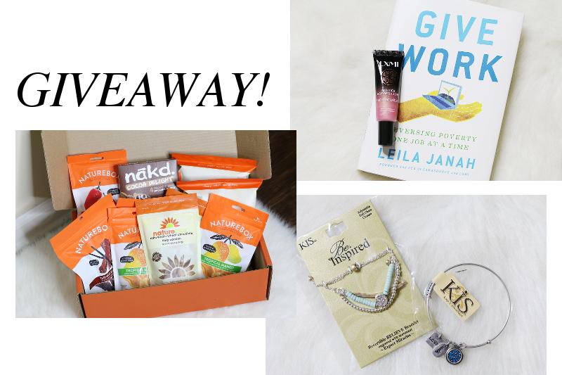 kis-jewelry-bracelets-book-lxmi-naturebox-snacks-giveaway