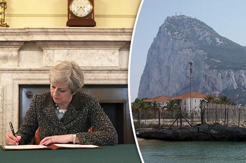 Theresa-May-Gibilterra