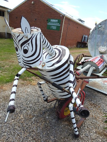 Curious scluptures in and around Cumnock