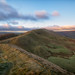 The lighting of Mam Tor...