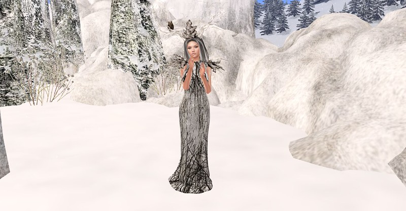 The Winter Dryad