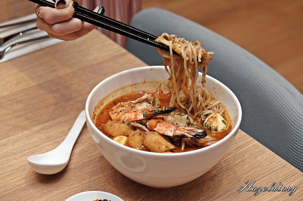 Sky22 Courtyard by Marriott-Tiger Prawn Laksa Lemak
