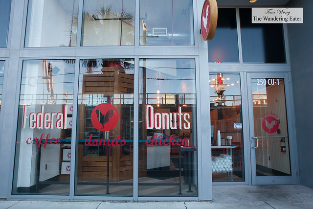 Exterior of Federal Donuts Miami