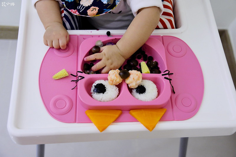 easymat餐盤防拔嬰兒餐具吸盤嬰兒餐具推薦嬰兒副食品餐具推薦EasyMat防滑矽膠餐盤 (23)