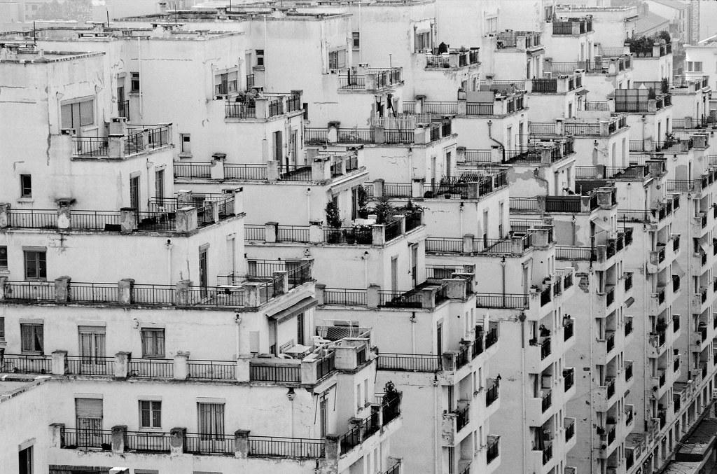 Vue sur les Gratte-ciels de Villeubanne - Photo de Claude Essertel du Figaro Lyon