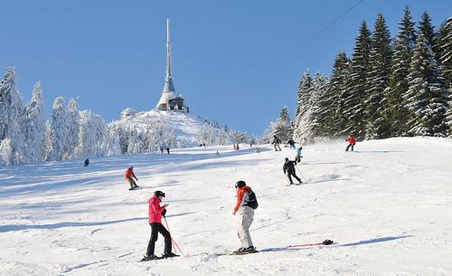 Přijeďte si zalyžovat do Ski areálu JEŠTĚD s 17 % slevou