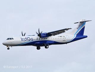 F-WWET ATR72 Indigo