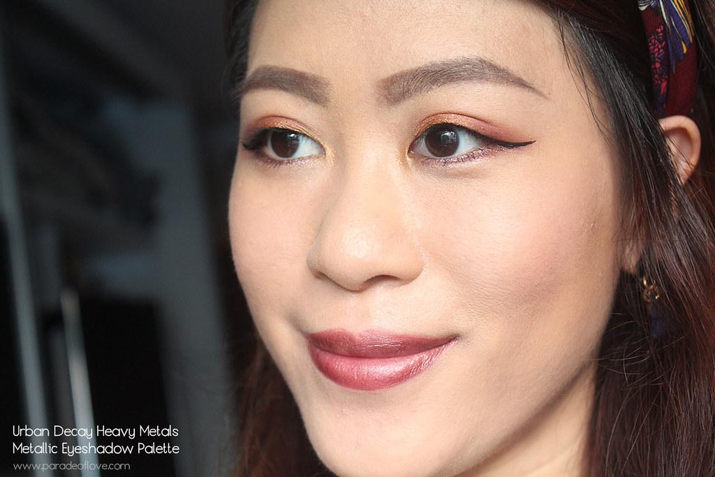 Urban Decay Heavy Metals Metallic Eyeshadow Palette Makeup - Neutrals_02