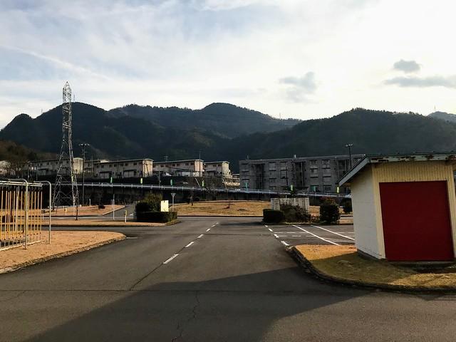 三田洞自動車学校より百々ヶ峰