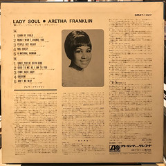 ARETHA FRANKLIN:LADY SOUL(JACKET B)