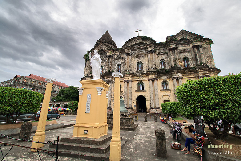 the basilica of St. Martin of Tours in Taal, Batangas