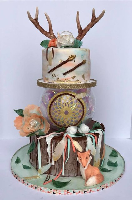 Into the Wild by Danette Kessler of Danette's Creative Corner Cakes and More