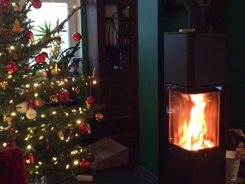 Weihnachten mit Kaminofen, Kundenfoto für ofenbernd