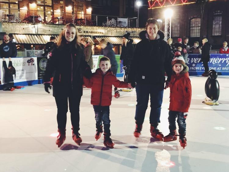 Skating team