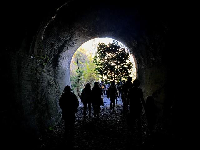 愛岐トンネル群 6号トンネル 出口