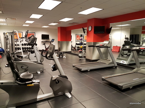 Club Quarters Hotels gym