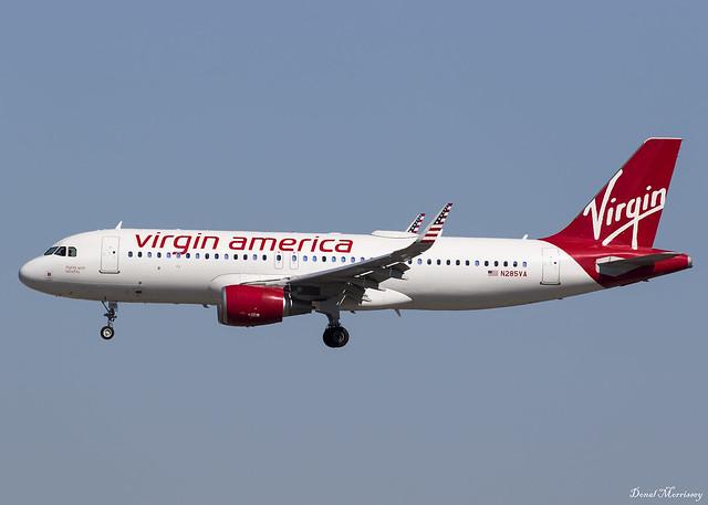 Virgin America A320-200 N285VA