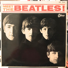 THE BEATLES:MEET THE BEATLES(JACKET A)