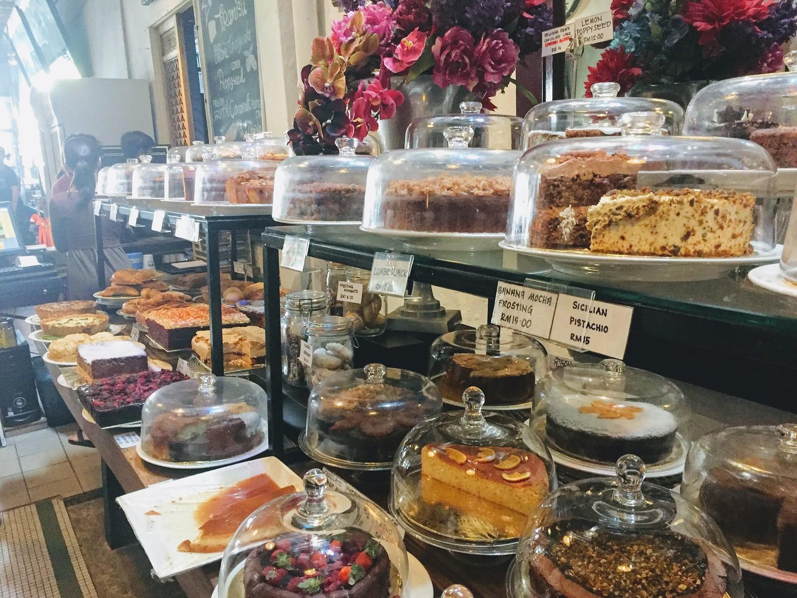 Cakes at China House