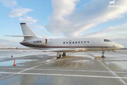 CS-DFK NetJets Dassault Falcon 2000EX