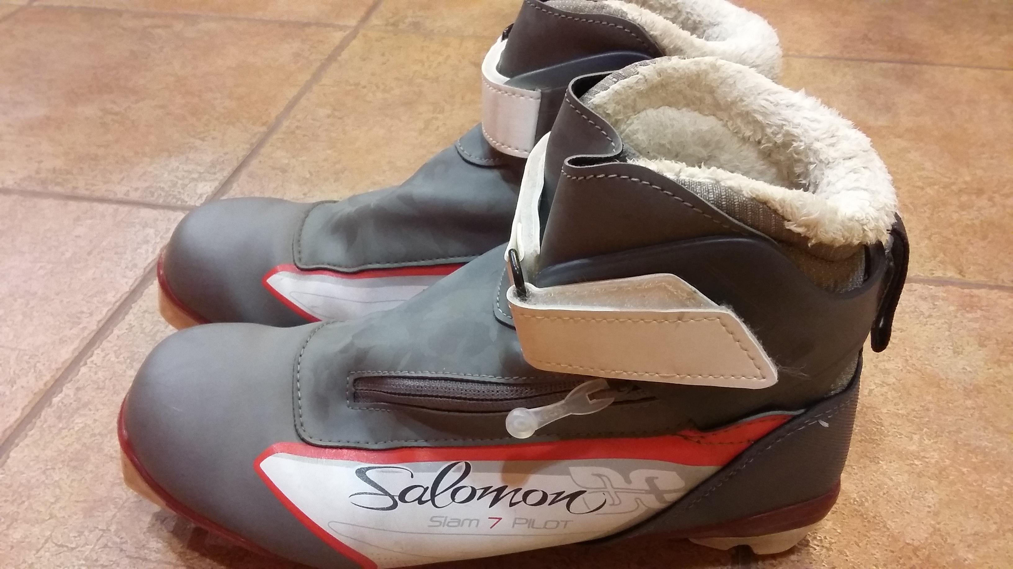 boty SALOMON SIAM 70 PILOT vel 39 1 3 - Bazar - Běžky.net 47a40ce925