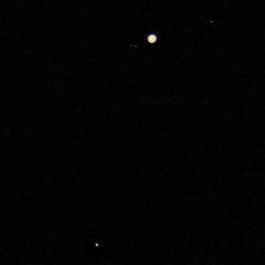 Jupiter and Mars 2018-01-07