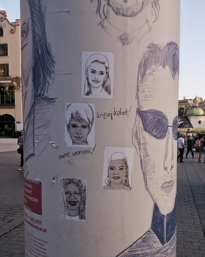 Adbusting, posters for Kraków Film Festival, May 2017