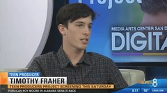 Teen Producers Interview on CBS 8 New San Diego