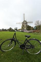 De Riekermolen (Rieker windmill) Amsterdam-Zuid.