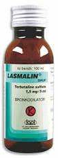 LASMALIN SYR 100ML 1,5MG/5ML