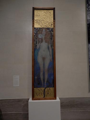 DSCN9982 _ Nuda Veritas, Klimt, 1899 - Klimt & Rodin