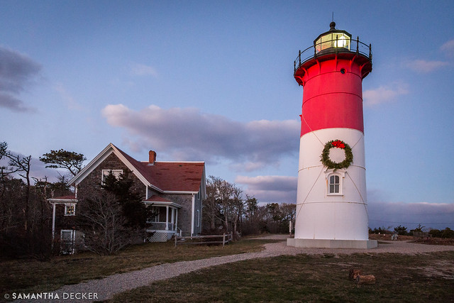 Festive Nauset Light