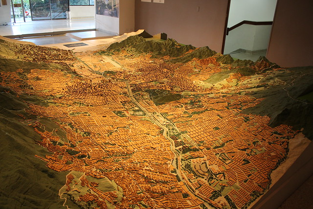 Medellin Layout @Nutibara Museum