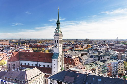 Five of the best destinations in Europe: Munich