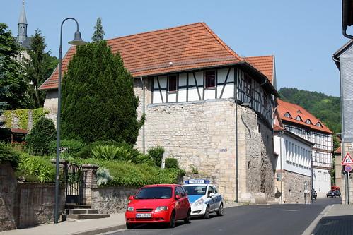 Trott´scher Hof am ehemaligen Burschel-Tor der Stadtmauer