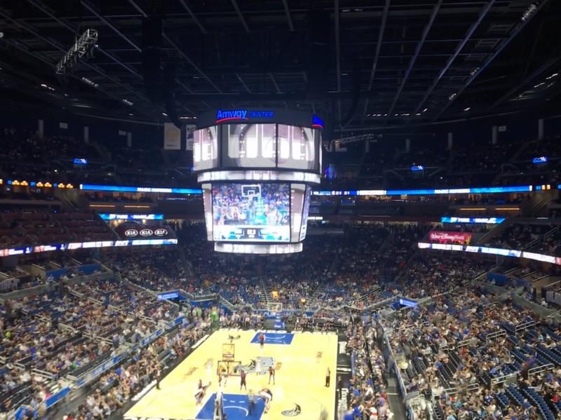OKC @ Orlando Magic 11/29/17 at Ammway Center, Orlando FL