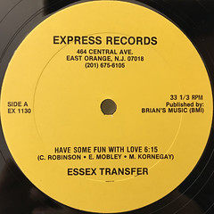 ESSEX TRANSFER:HAVE SOME FUN WITH LOVE(LABEL SIDE-A)