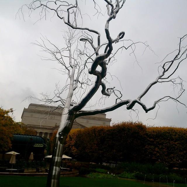 Sculpture Garden Outside Smithsonian Art Gallery