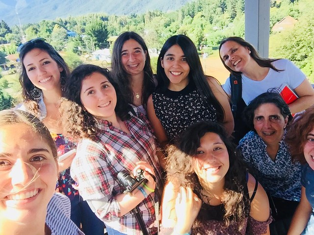 Profesores y alumnos de Historia, Literatura y Filosofía participaron en los TRIP en Alto Biobío