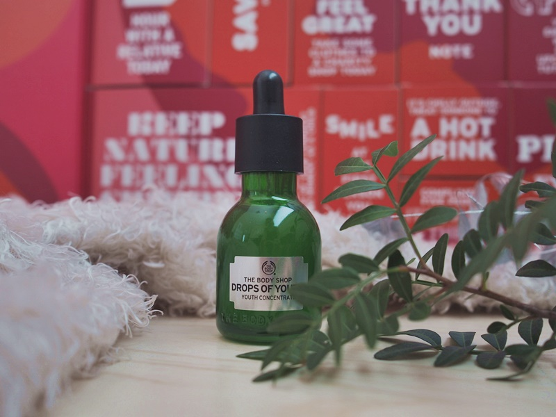 the body shop drops of youth tehotiiviste