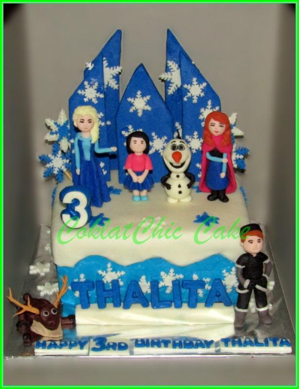 Cake Disney Frozen THALITA 15cm