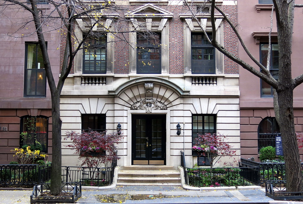 49 West 9th Street (1855; facade altered 1897-98), Greenwich Village, New York