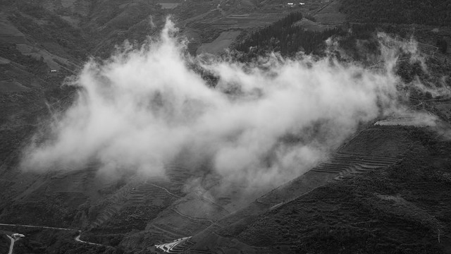 VIETNAM the mountains around, Fujifilm X-T1, XF56mmF1.2 R APD