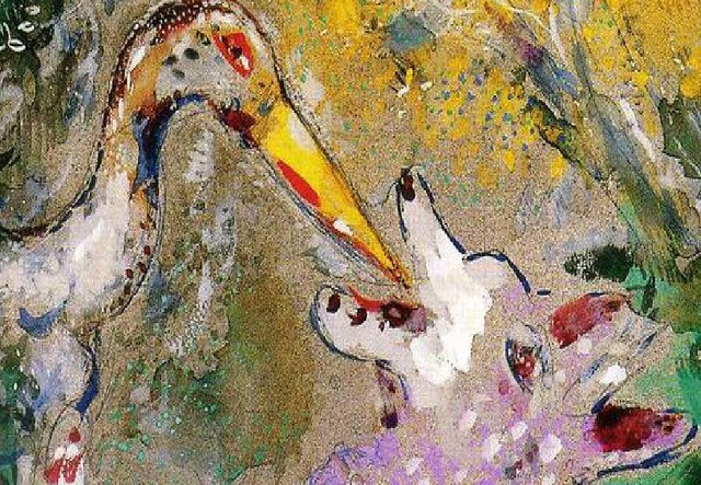 mostra marc chagall le favole