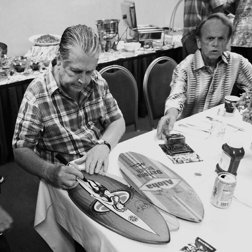 Bass-Brian Signs Surfboards