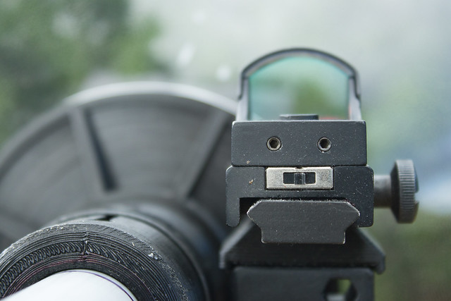 DIY Parabolic - Useless Reflex Sight