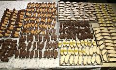 Chocolate on the biscotti