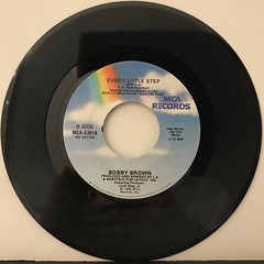 BOBBY BROWN:EVERY LITTLE STEP(RECORD SIDE-B)