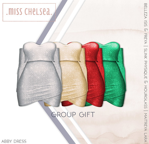 .miss chelsea. Christmas group gift!