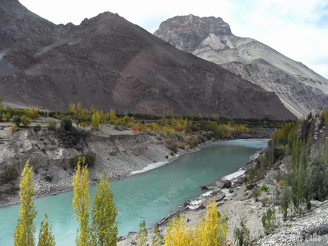 Rio Indo de camino a Lamayuru